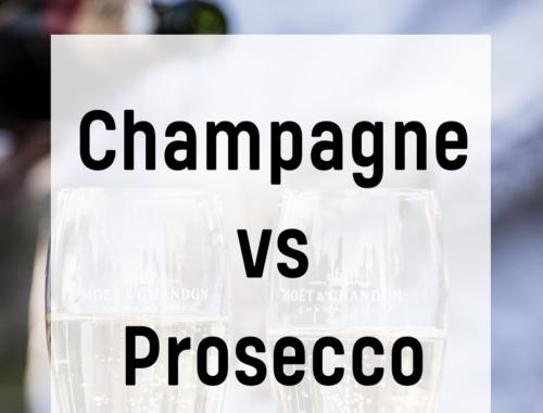 Champagne vs. Prosecco