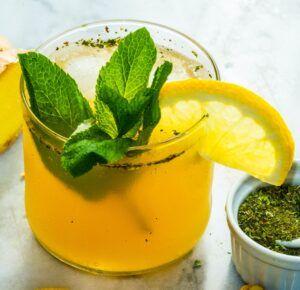 Mimosas & Mint