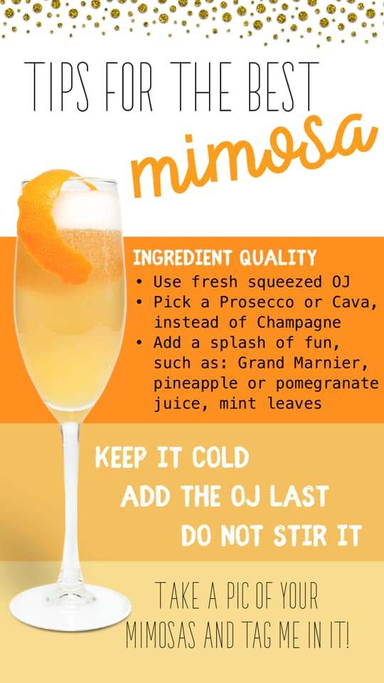 Tips for making the perfect mimosa