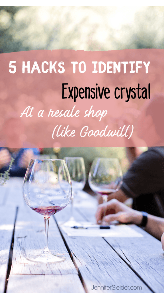 5 Hacks to finding Expensive glassware
