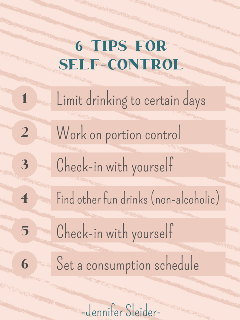 6 Tips for Self Control
