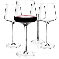 Wine Glass Set 4 glasses for red and white